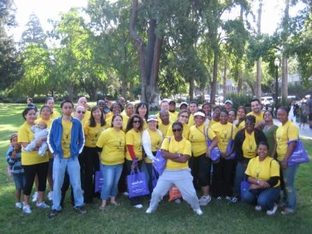 Bright Lights Alzheimer's Walk Team