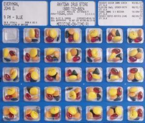 Blister Packs for Medication