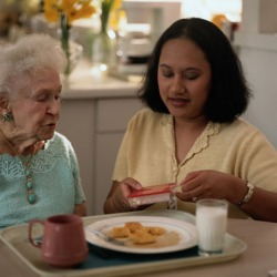 Half of seniors have a caregiver